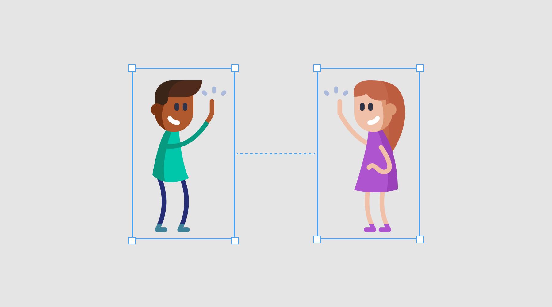 UI cheat sheet: Spacing friendships