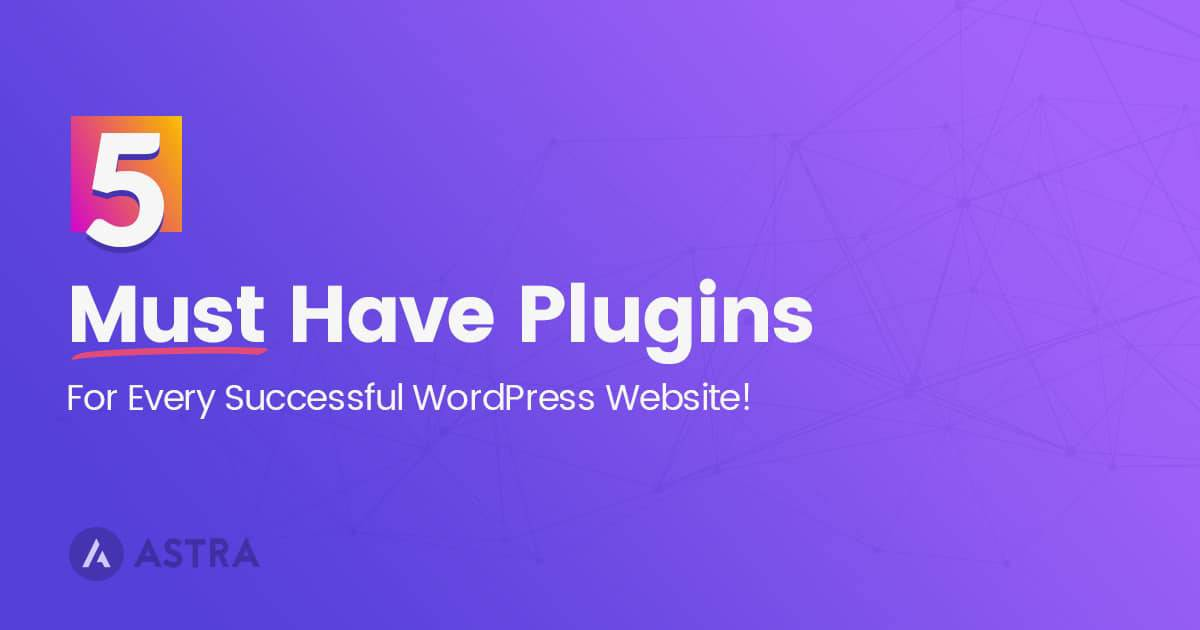 5 Must Have Plugins For Every Successful WordPress Website