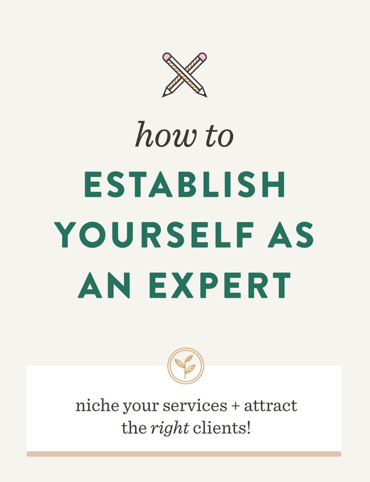 Establish yourself as an expert — Spruce Rd.