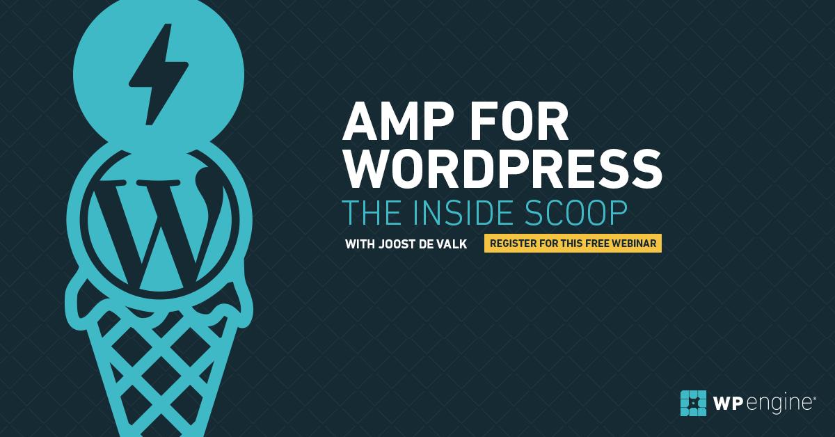Webinar: AMP for WordPress