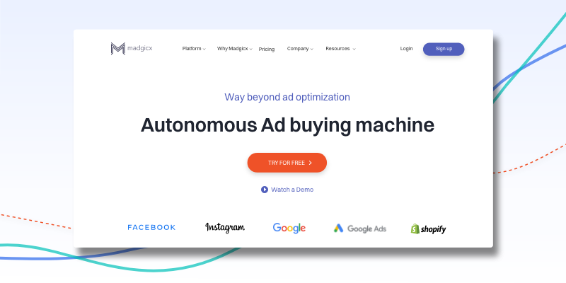 Madgicx – The All-in-One Google & Facebook Advertising Platform
