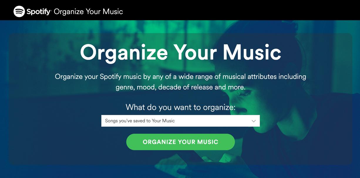 Spotifyorganizeyourmusic