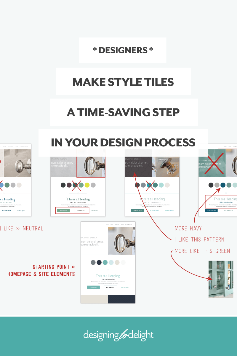 Make style tiles a time-saving step in your web design process – Designing to Delight