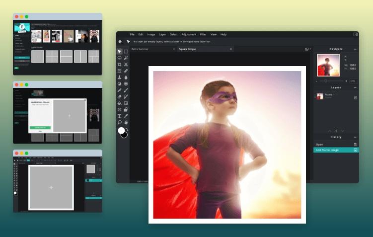 Free Photo editor online graphic design : Pixlr