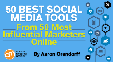 50 Best Social Media Tools From 50 Most Influential Marketers Online