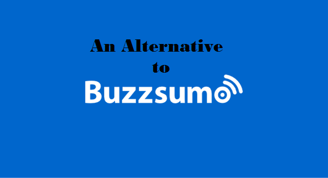 Alternatives to Buzz Sumo