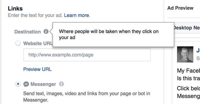 Facebook Messenger Ads: A Guide – Jon Loomer Digital