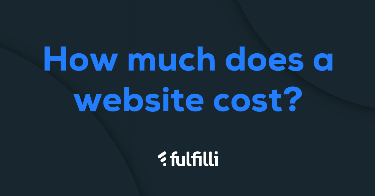 How much does a website cost in United Kingdom | Fulfilli
