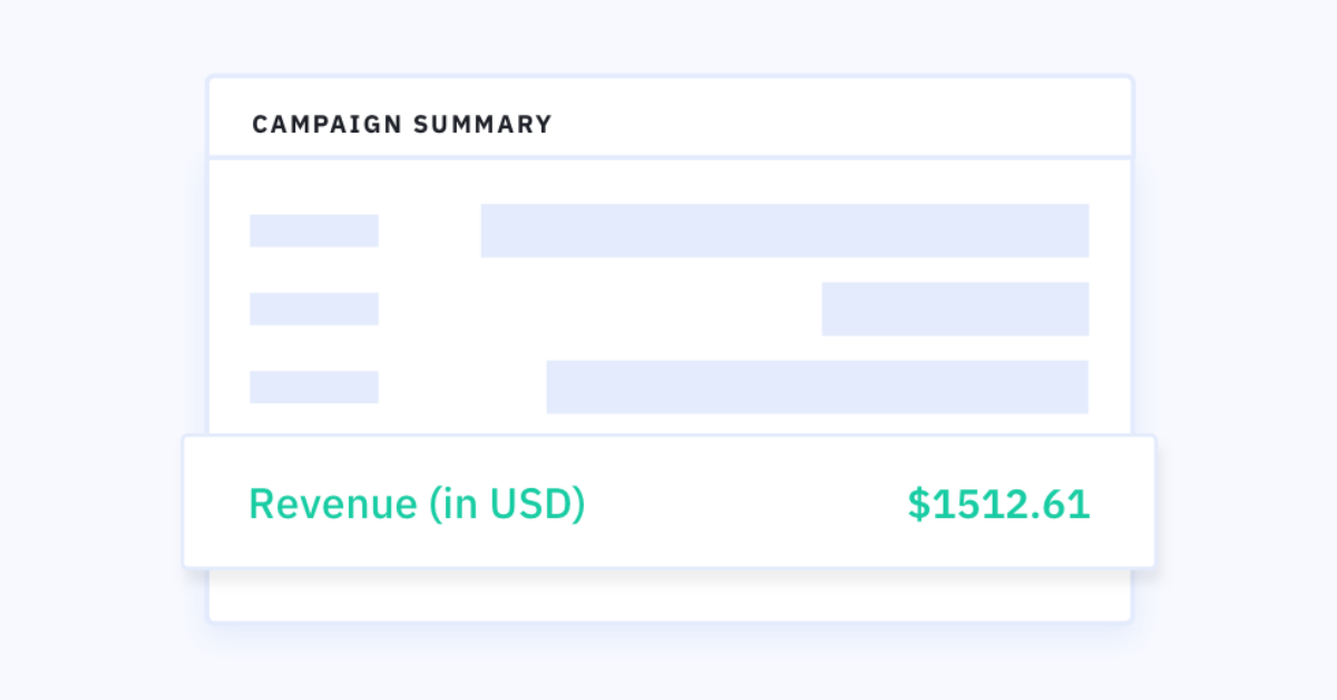 Announcing Ecommerce Reporting: Track the Revenue of Every Email
