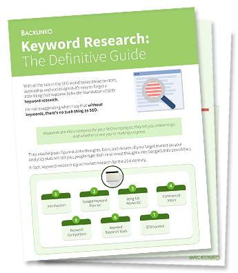 Keyword Commercial Intent – Keyword Research: The Definitive Guide