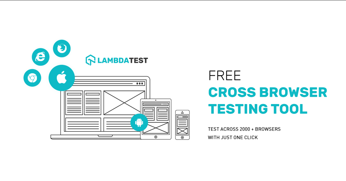 Free Cross Browser Testing Tool on Cloud | Selenium Automation Testing