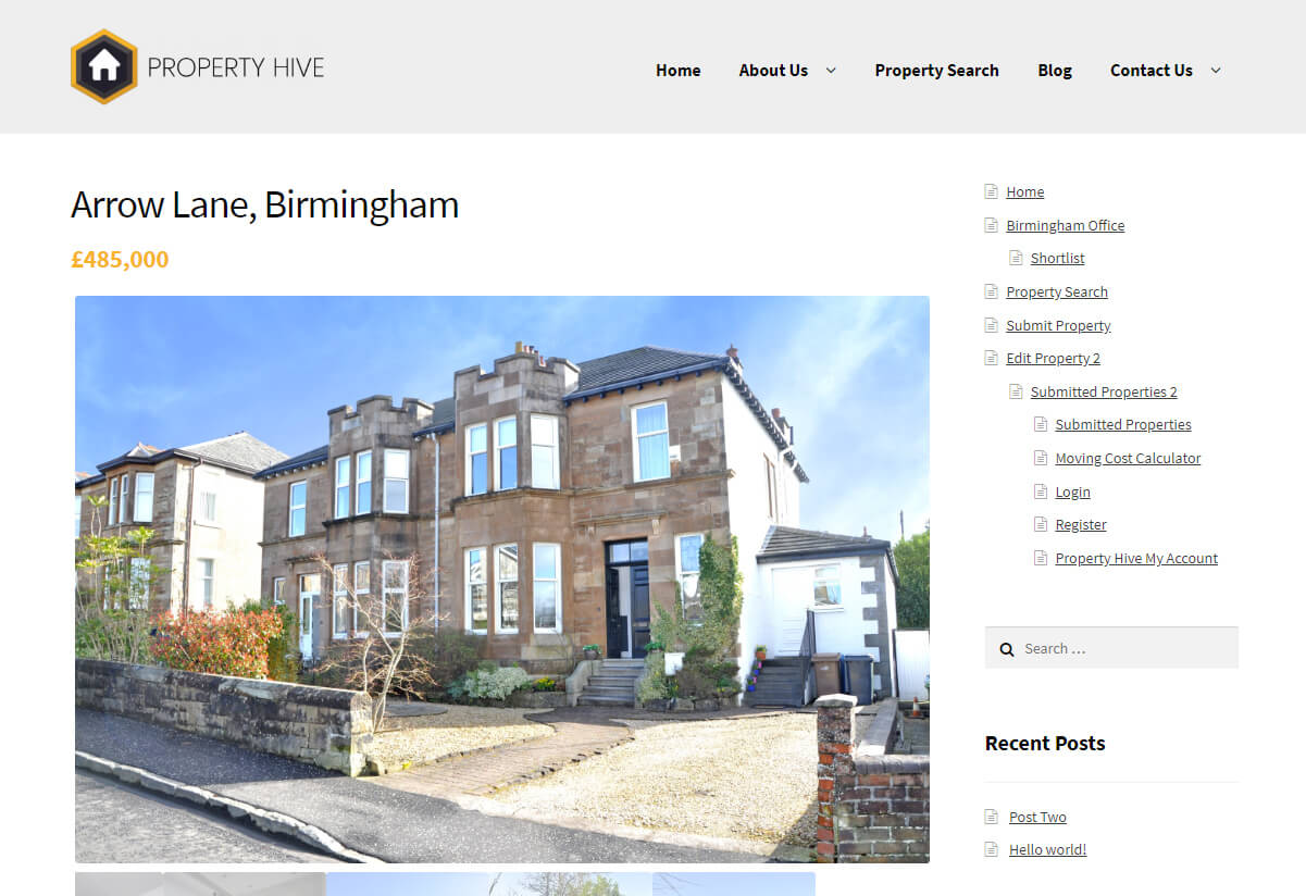 Property Hive For WordPress | No 1 UK Estate Agency Plugin