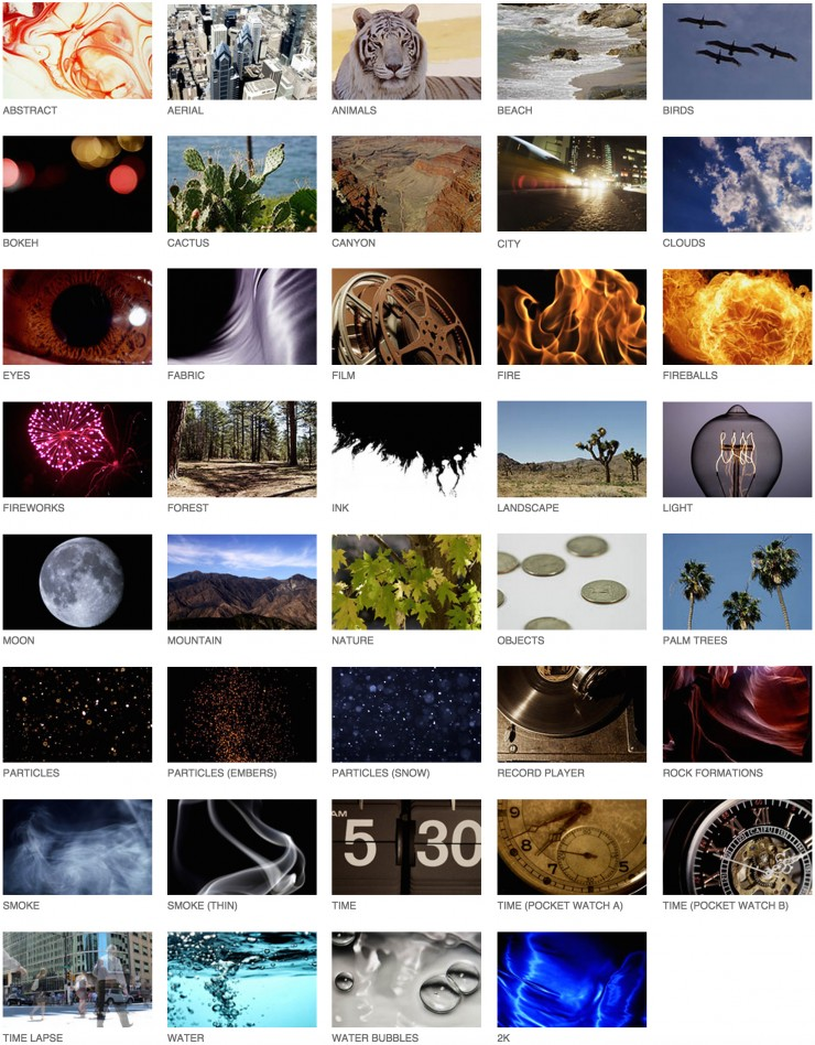 Here Are Over 1,500 Free 4K Stock Footage Clips Shot on RED