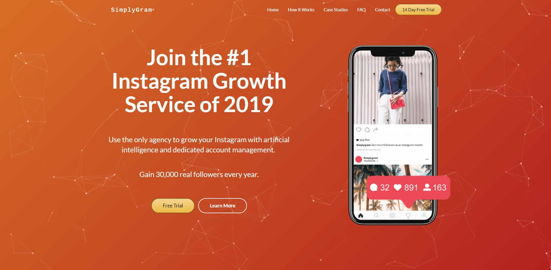 SimplyGram – Get More Real Instagram Followers | FREE Trial