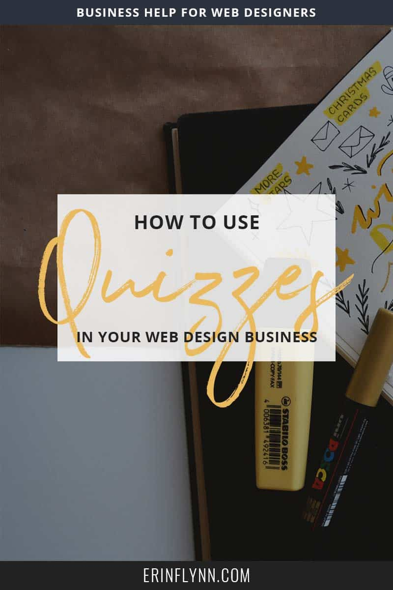 How to use quizzes as a web designer | Erin Flynn