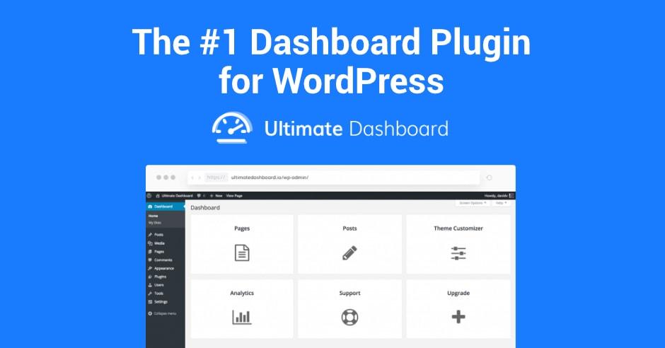 Customize WordPress Dashboard Plugin – Ultimate Dashboard