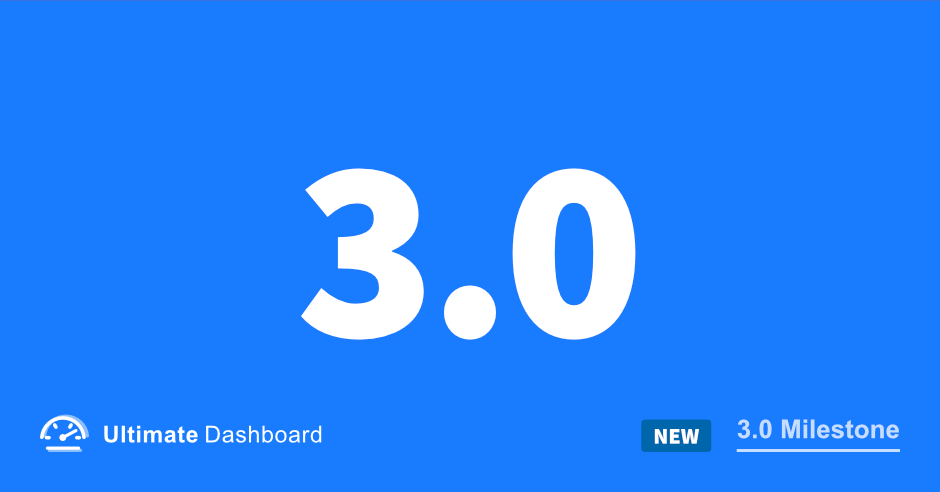 Ultimate Dashboard 3.0 – Page Builder Framework
