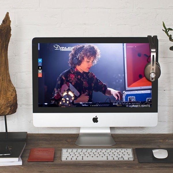 Danley Soundlabs UK web design. Hero image
