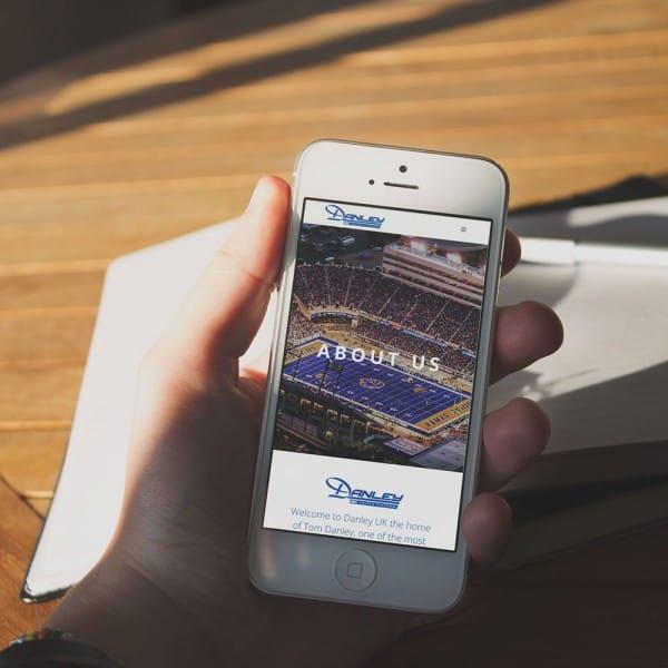 Danley Soundlabs UK iPhone mobile device responsive