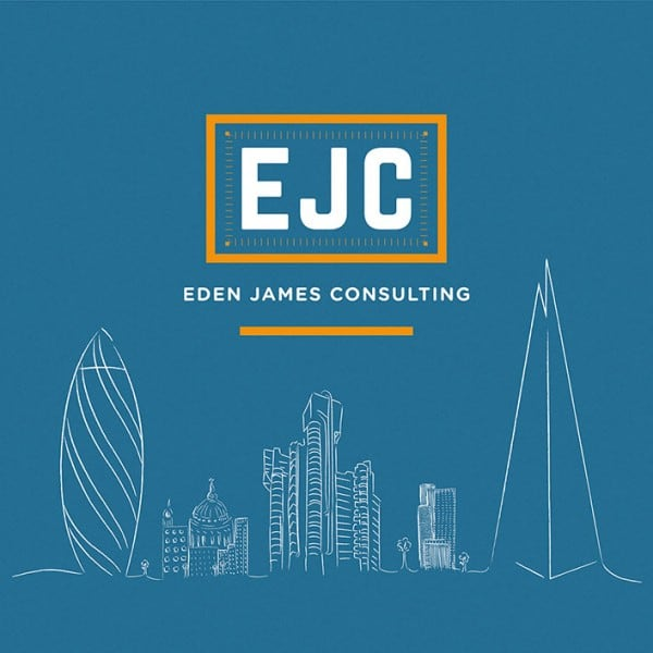 Eden James Consulting graphic design, illustration, branding.