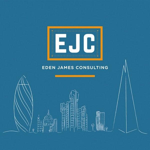 Eden James Consulting graphic design, illustration, branding.