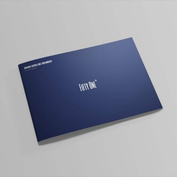 Fifty One Degrees, branding guidelines