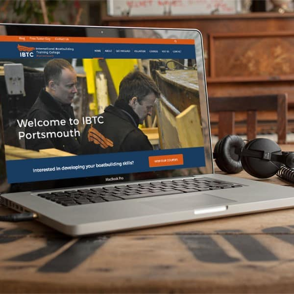 IBTC Portsmouth, responsive website design