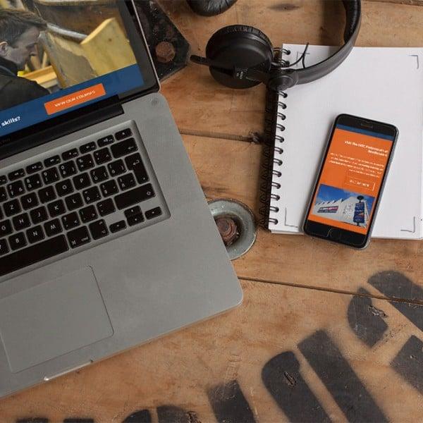 IBTC Portsmouth, responsive web design