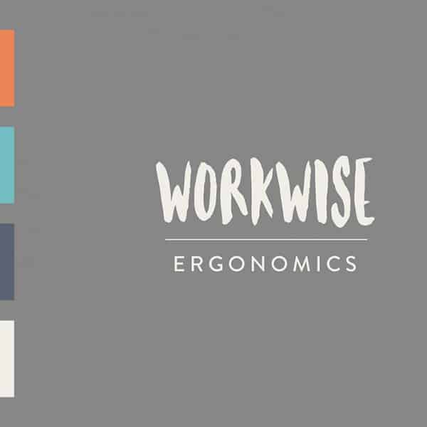 Workwise Ergonomics logo colour palette