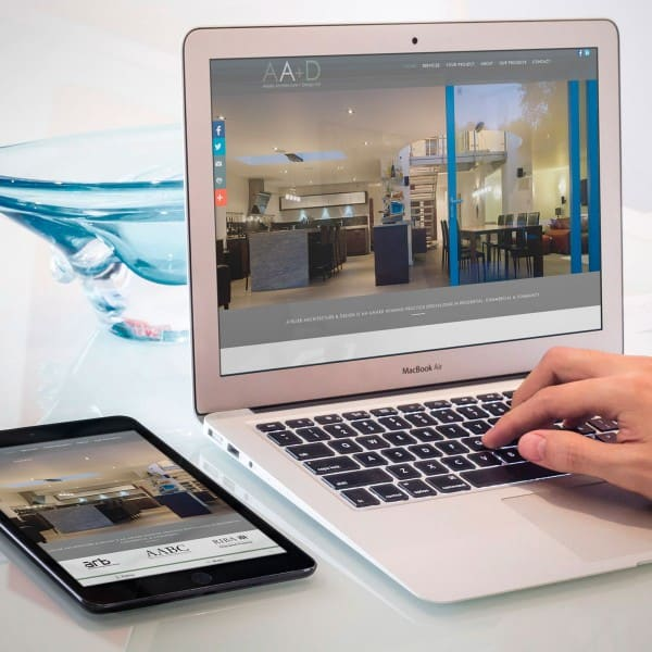 Atelier Architecture & Design responsive website
