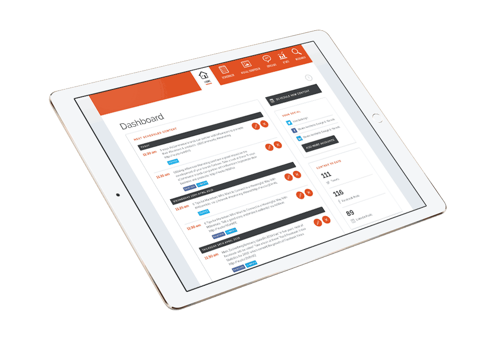 Our Social Media Management Tool is ready for you…