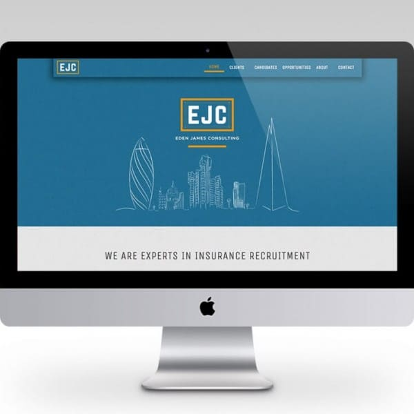 Eden James Consulting, website design