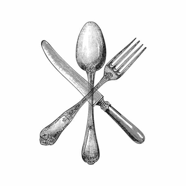 Jam & Bowler Breakfast Rooms, identity design, branding asset