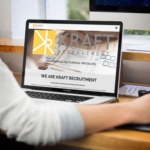 Kraft Recruitment Ident Web Design
