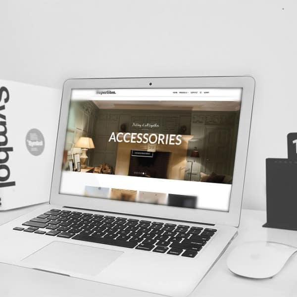 Superlites, e-commerce website design