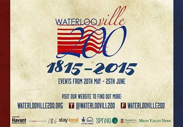 Waterlooville 200 vinyl banner design large scale print