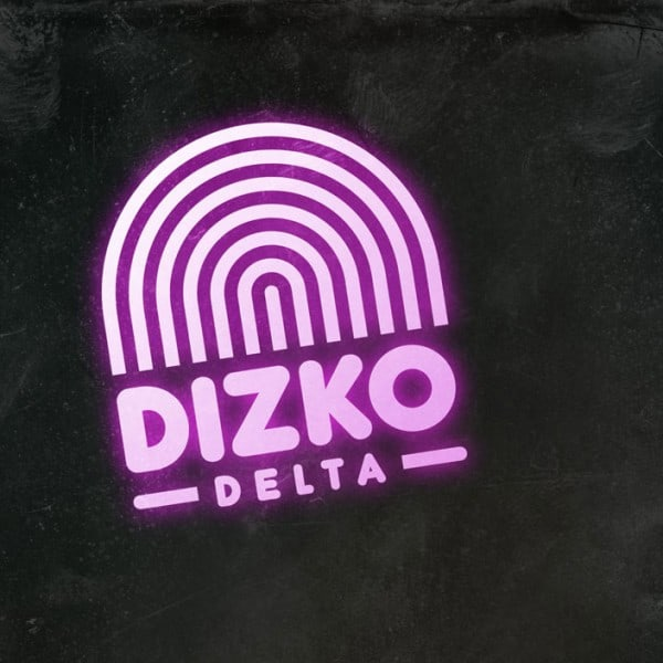Disko Delta logo graphic design