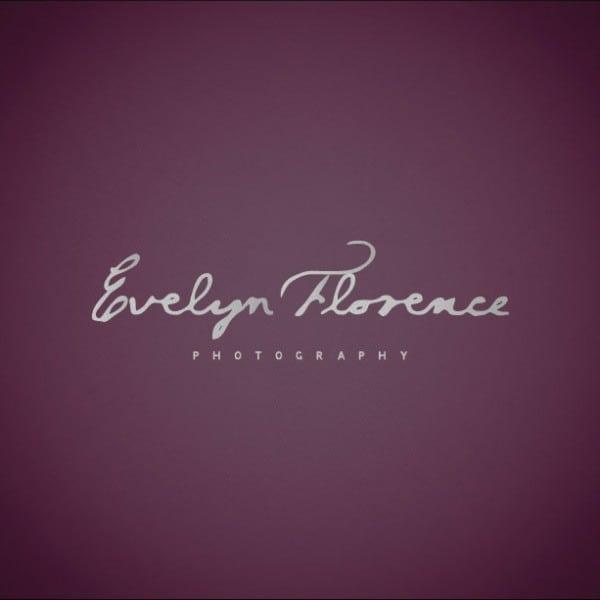 Evelyn Florence Photography branding logo design