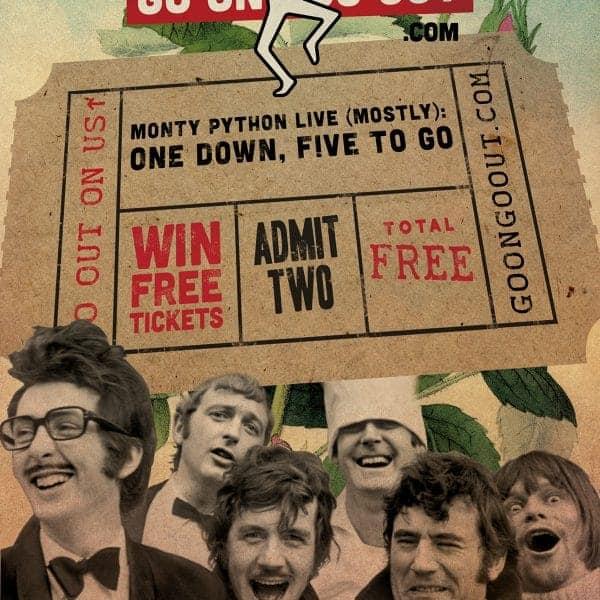 Go On Go Out poster design artwork