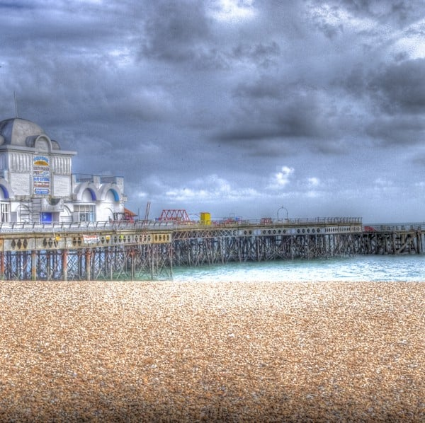 HDR Portsmouth Pier photography