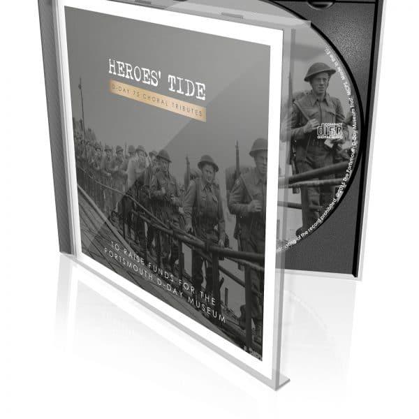 Heroes Tide CD disk case album design