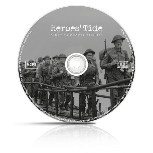 Heroes Tide CD disk album design