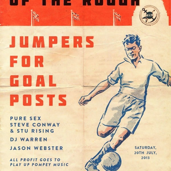 Civilisation of The Rough COR flyer design Jumpers For Goal Posts