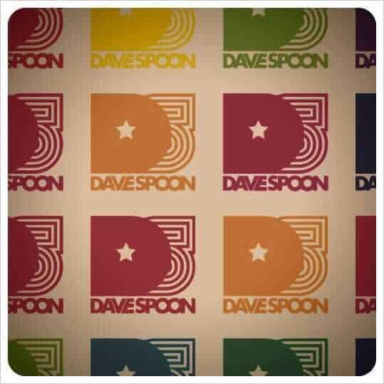 Dave Spoon logo branding