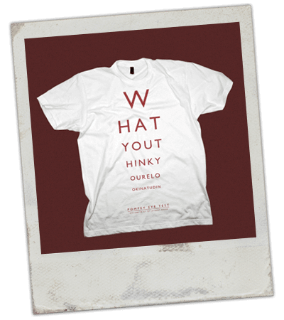 Pompey Eye Test t-shirt design
