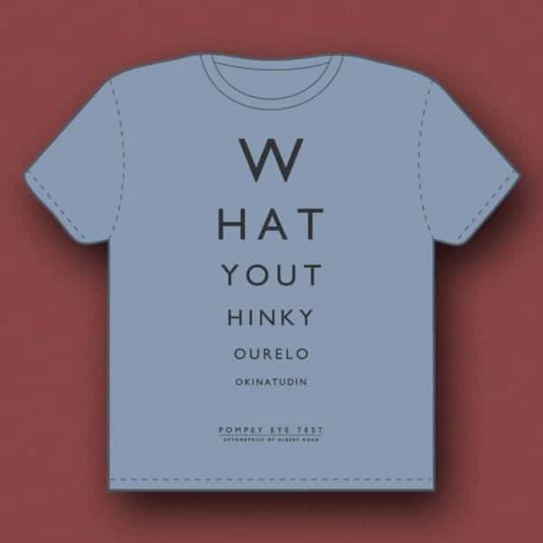 Pompey Eye Test t-shirt design