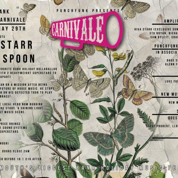 Carnivale music festival poster design