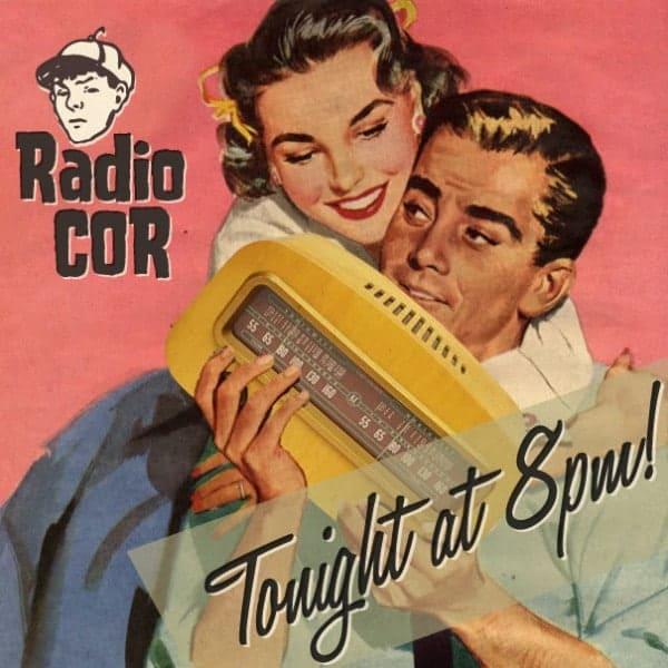 Radio COR online advert