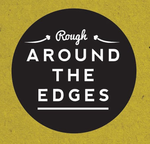 Rough Around The Edges logo branding design