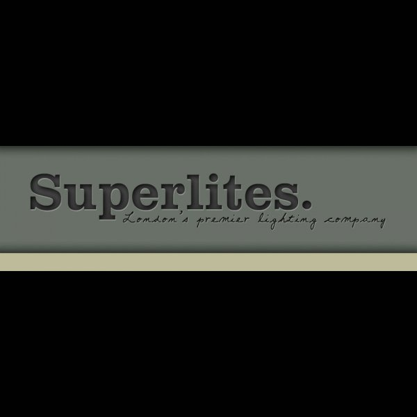 Superlites logo, London's premier lighting company